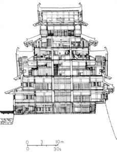 himeji castello sezione