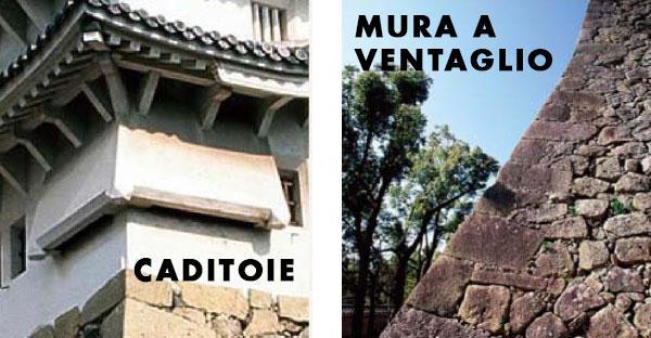 Particolari del Castello di Himeji