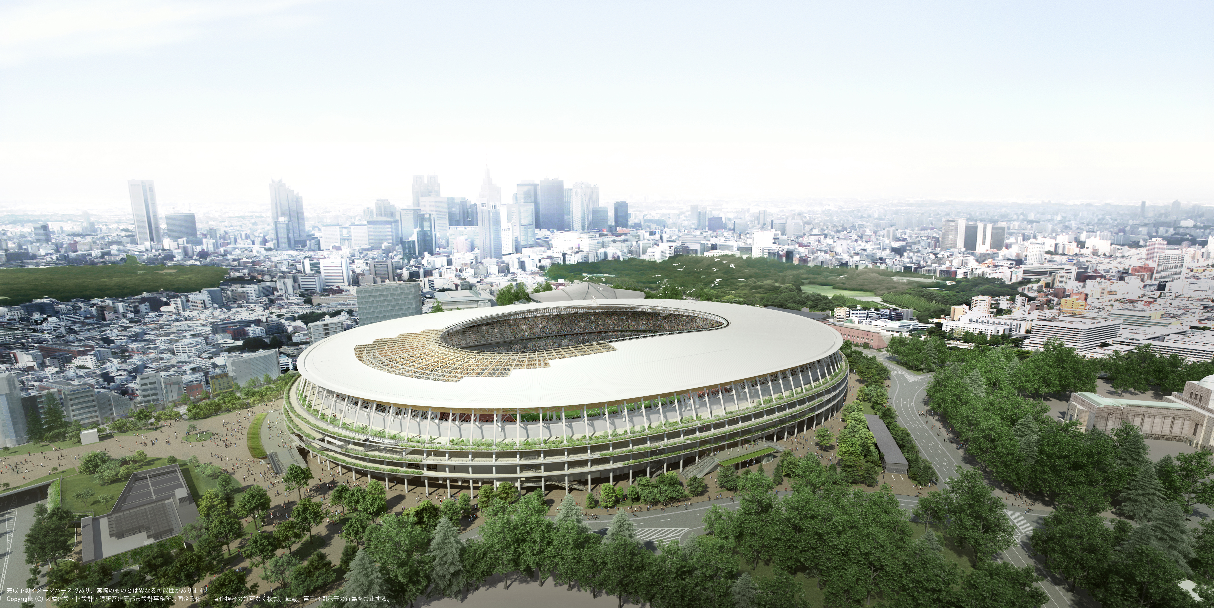 Stadio olimpico tokyo 2020