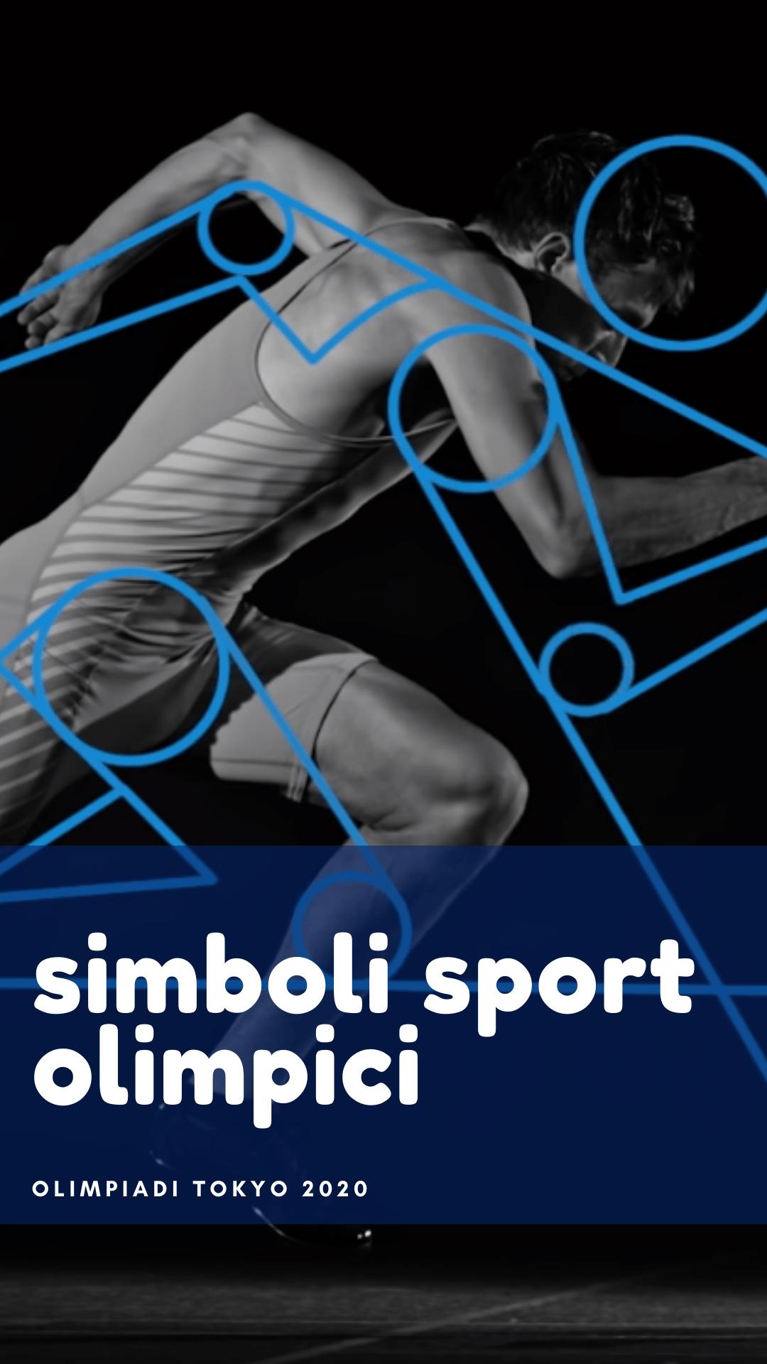simboli olimpiadi sport