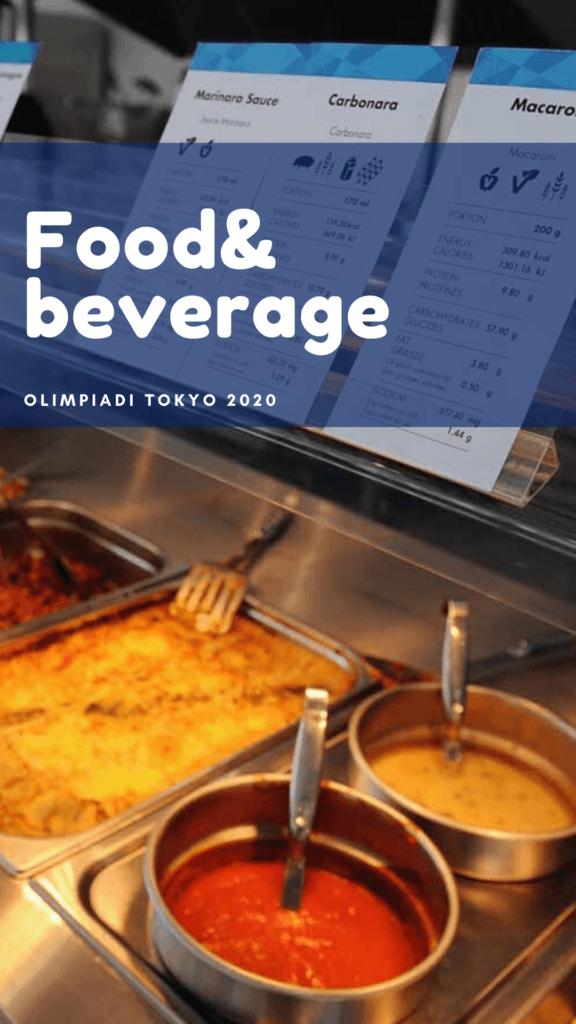cibo alle olimpiadi