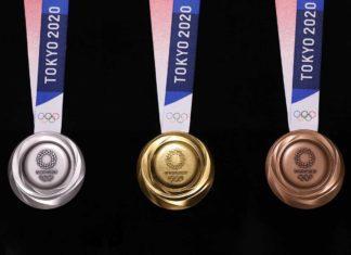 Medaglie olimpighe tokyo 2020