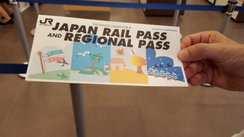 novità japan rail pass 2020