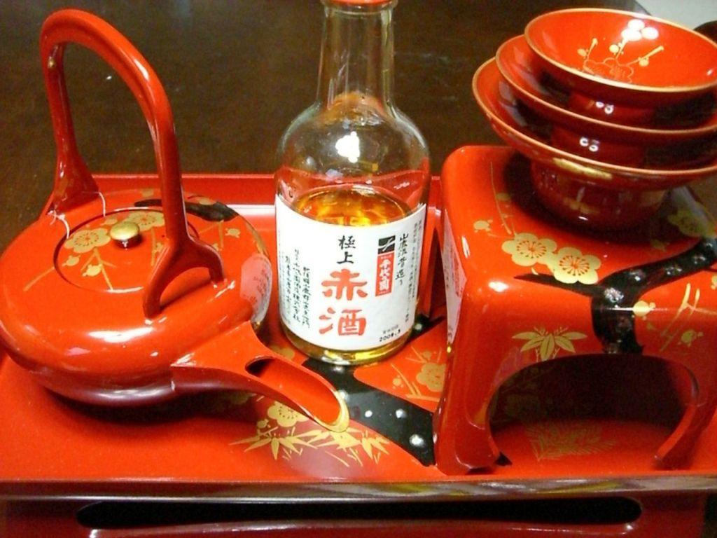 otoso sake capodanno in giappone