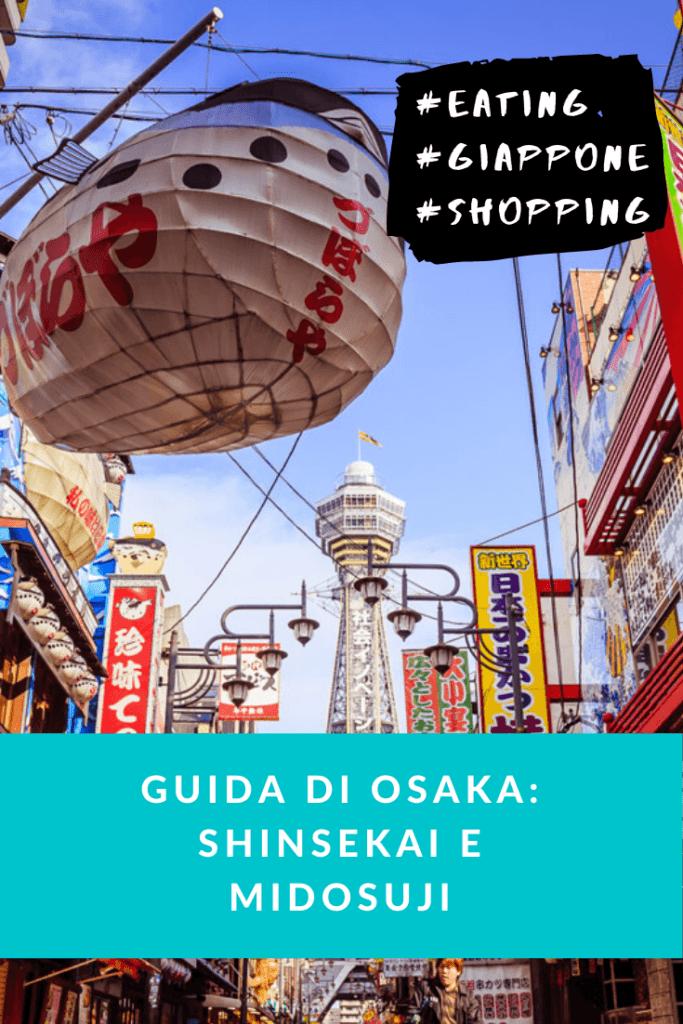 pinterest osaka guide shinsekai