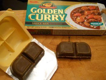 dado per curry giapponese