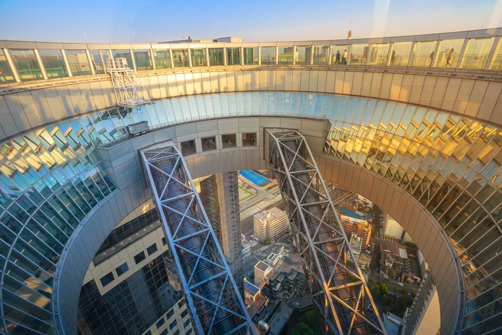 umeda sky building osservatorio