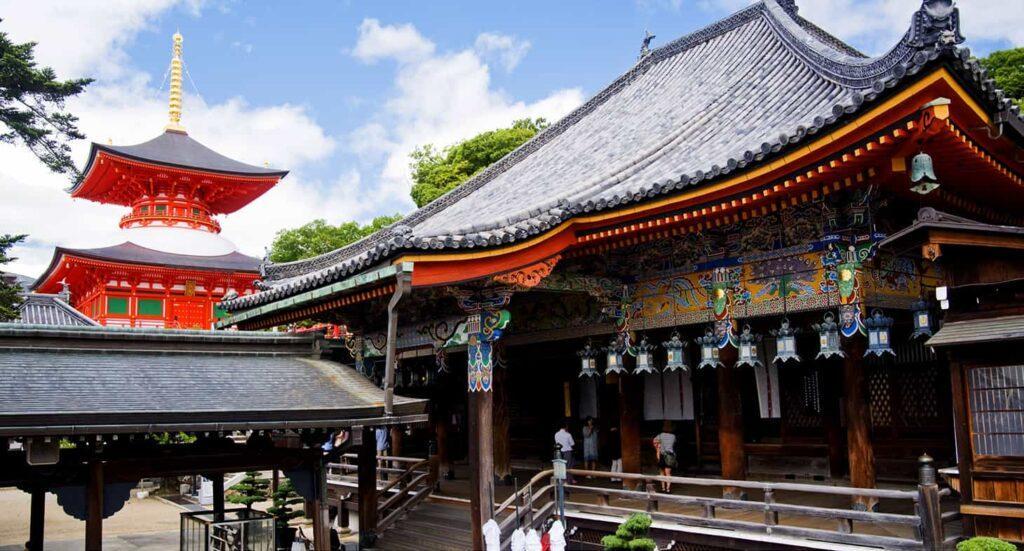 nakayamadera osaka tempio